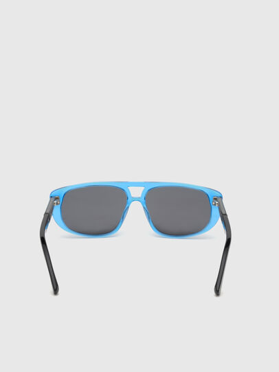Diesel - DL0306, Blue/Black - Kid Eyewear - Image 4