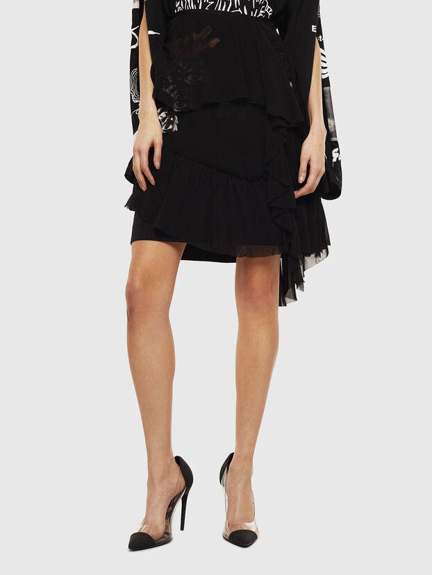 O-BURNETT, Black - Skirts