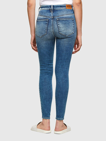 Diesel - Slandy High 009PT, Light Blue - Jeans - Image 2