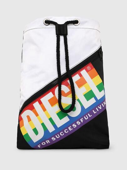 Diesel - BBAG-SACK-P, Black/White - Beachwear accessories - Image 1