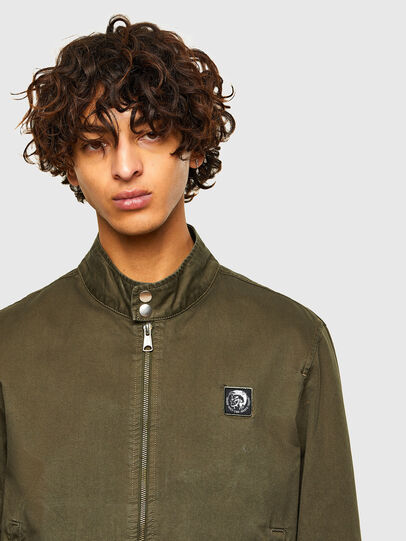 Diesel - J-HALLS-A, Military Green - Jackets - Image 3