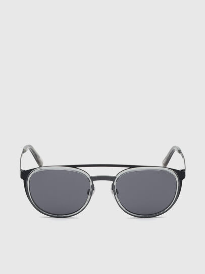 Diesel - DL0293, Black/Grey - Sunglasses - Image 1