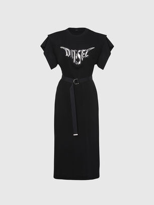 D-FLIX-C, Black - Dresses