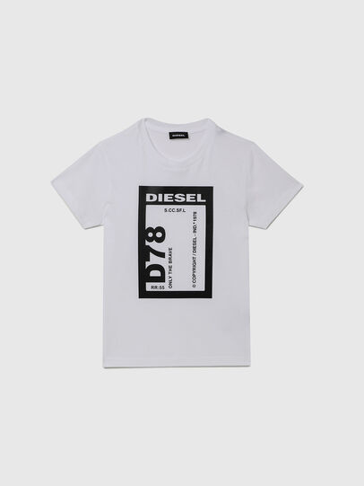 Diesel - TFULL78, White - T-shirts and Tops - Image 1