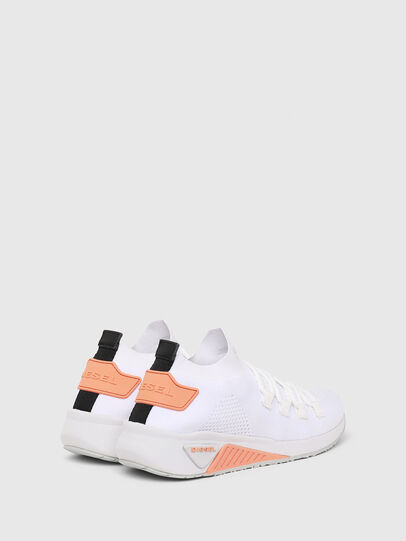 Diesel - S-KB ATHL LACE W, White/Pink - Sneakers - Image 3