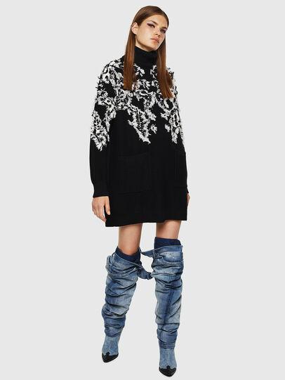 Diesel - M-CV-FURS, Black - Knitwear - Image 5