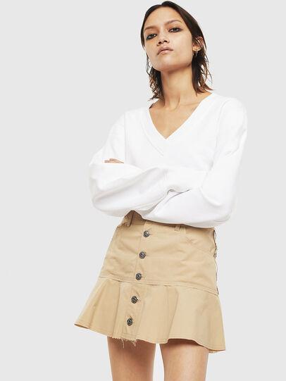 Diesel - O-BETH, Beige - Skirts - Image 3