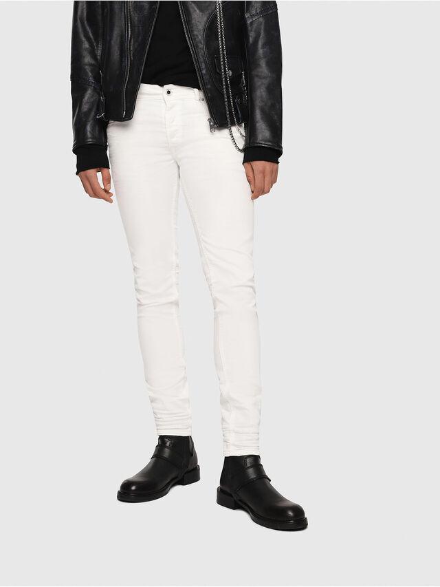 Diesel Sleenker 084CY, White - Jeans - Image 1