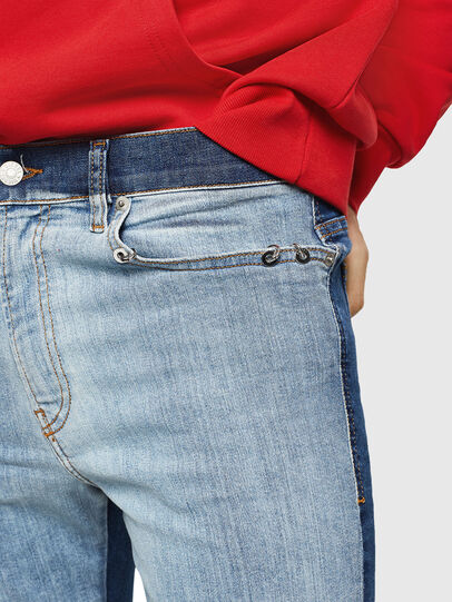 Diesel - D-Istort 085AU, Medium blue - Jeans - Image 5