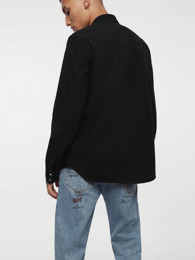 Diesel - D-PLANET, Black Jeans - Denim Shirts - Image 2