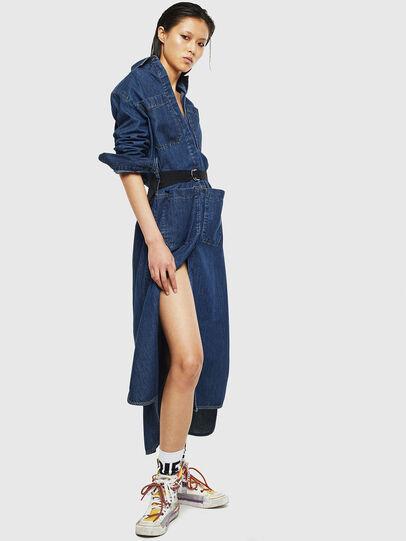 Diesel - DE-TOKYO, Medium blue - Dresses - Image 4