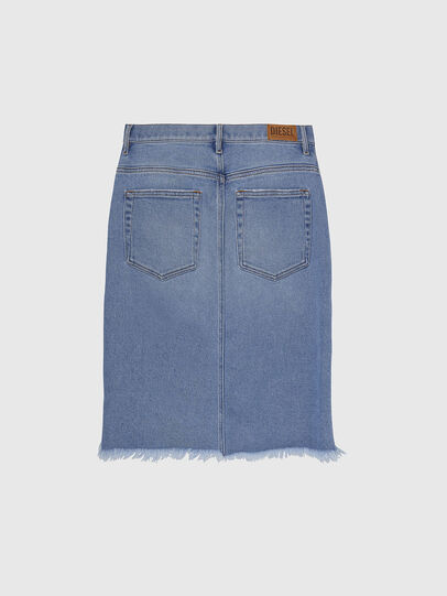 Diesel - DE-ELLYOT, Light Blue - Skirts - Image 2