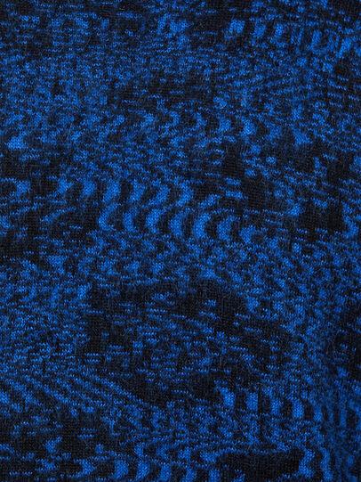 Diesel - K-AZOTIC, Black/Blue - Knitwear - Image 5
