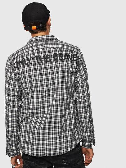 Diesel - S-TROPP, White/Black - Shirts - Image 2