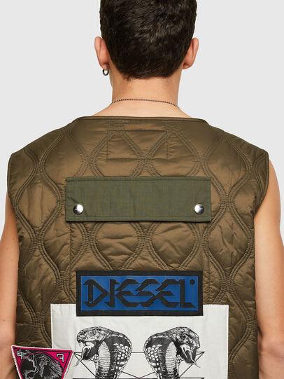 Diesel - J-LUKI, Olive Green - Jackets - Image 4