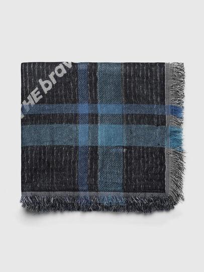 Diesel - S-COUPY, Black/Blue - Scarf - Image 1