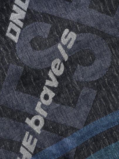 Diesel - S-COUPY, Black/Blue - Scarf - Image 2