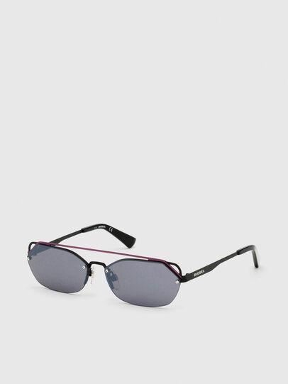 Diesel - DL0313, Black/Violet - Sunglasses - Image 2