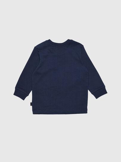 Diesel - TRAVEB, Dark Blue - T-shirts and Tops - Image 2
