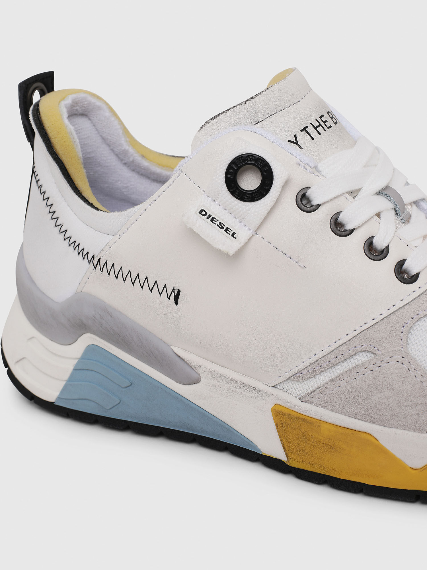 sneakers with chunky sole   Diesel