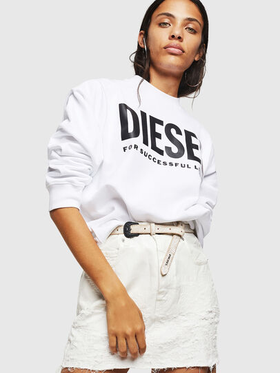 Diesel - F-ANG, White - Sweaters - Image 4