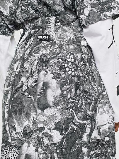 Diesel - O-MOYA-B, Black/White - Skirts - Image 5