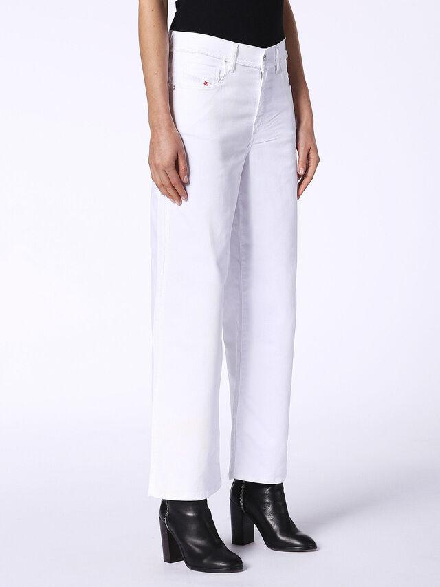 WIDEE F JOGGJEANS 0684U, White Jeans