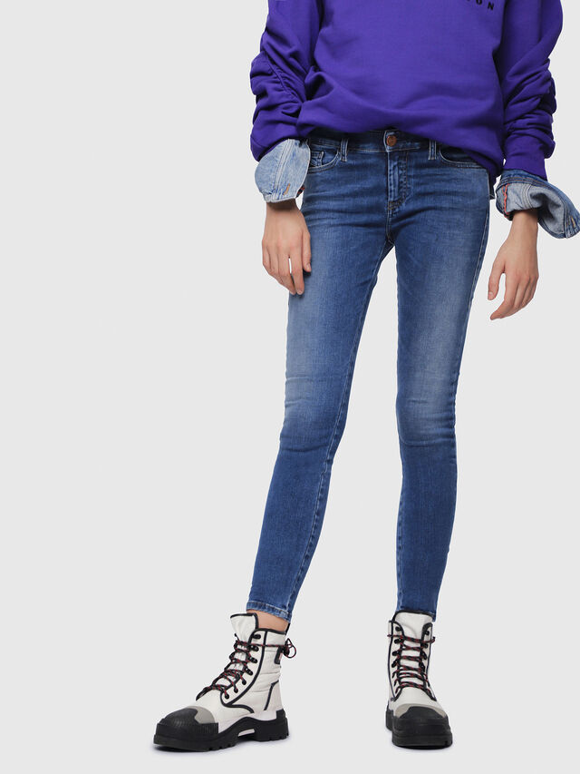 Diesel - Slandy 084NM, Medium blue - Jeans - Image 1