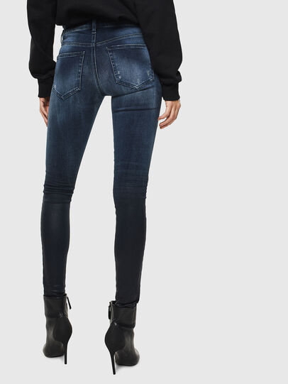 Diesel - Slandy 0096K, Dark Blue - Jeans - Image 2