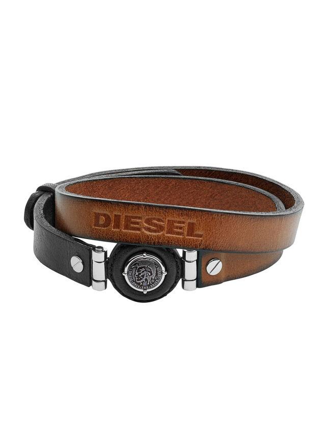 Diesel BRACELET DX1021, Brown - Bracelets - Image 1