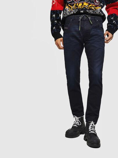 Diesel - Krooley JoggJeans 069IC, Dark Blue - Jeans - Image 1