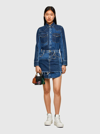 Diesel - DE-DESY-Z1, Medium blue - Dresses - Image 1