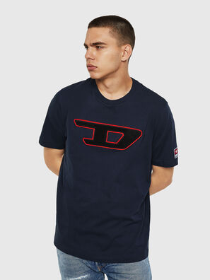 T-JUST-DIVISION-D, Dark Blue - T-Shirts
