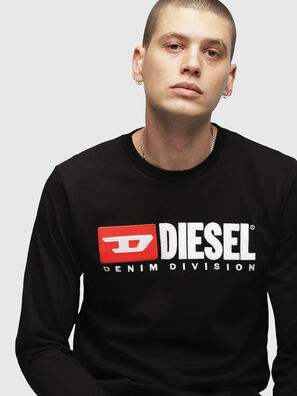 T-JUST-LS-DIVISION,  - T-Shirts