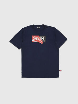 CC-T-JUST-COLA, Dark Blue - T-Shirts