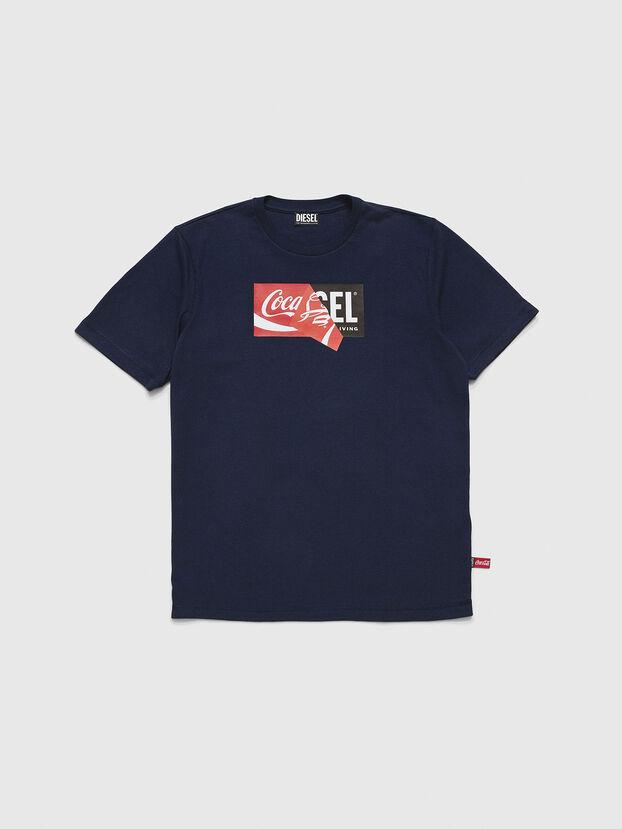 CC-T-JUST-COLA, Dark Blue - T-Shirts
