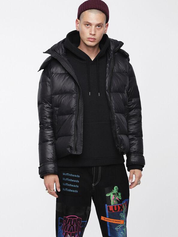W-SMITH-A, Black - Winter Jackets