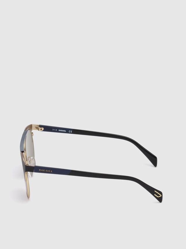 Diesel DL0218, Black/Blue - Eyewear - Image 3