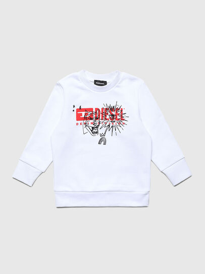 Diesel - SUNGB-R, White - Sweaters - Image 1