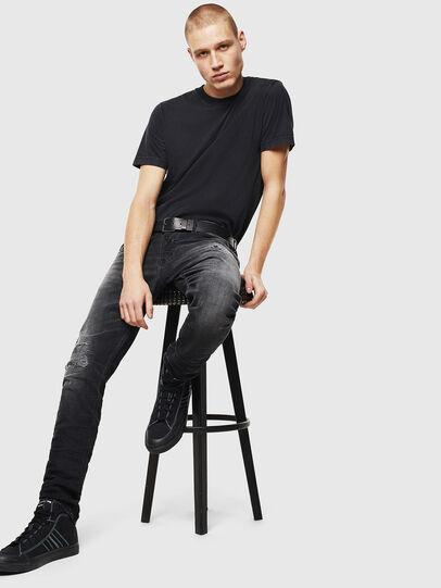 Diesel - Tepphar 069DW, Black/Dark grey - Jeans - Image 6