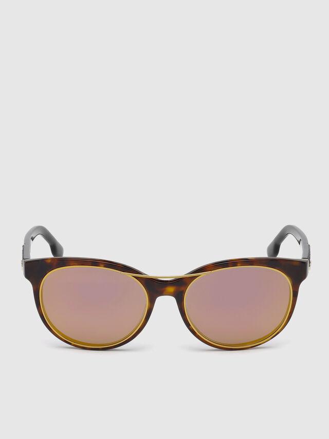 Diesel - DL0213, Brown - Eyewear - Image 1