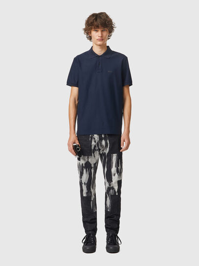 Diesel - T-SMITH-B2, Blue - Polos - Image 4