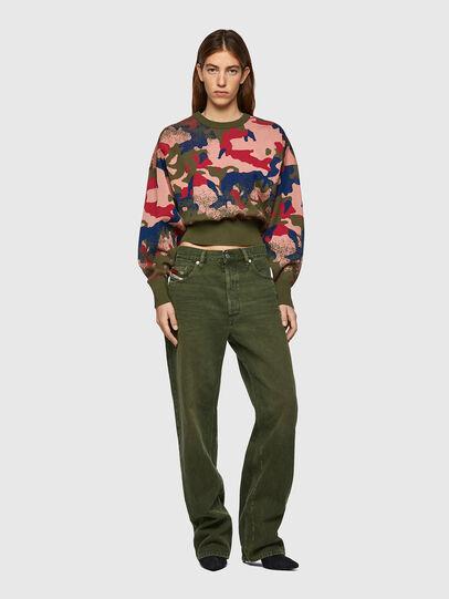 Diesel - M-MONTANA, Green/Pink - Knitwear - Image 5