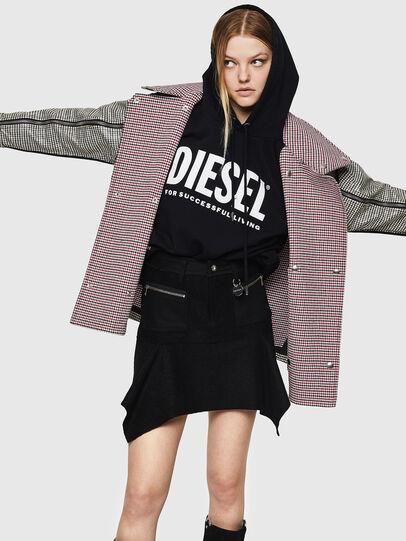 Diesel - O-BRYEL-A, Black - Skirts - Image 4