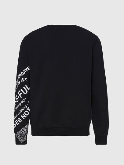 Diesel - S-GIRK-FOLDED, Black - Sweaters - Image 2