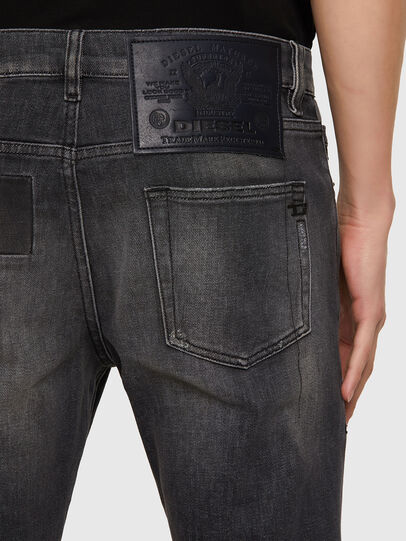 Diesel - D-Strukt 009MZ, Black/Dark grey - Jeans - Image 3