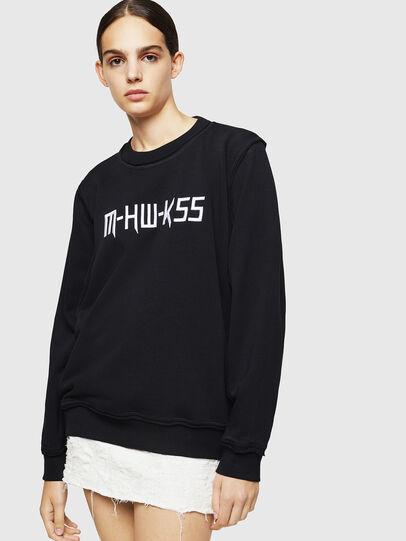 Diesel - F-LYANY-H, Black - Sweaters - Image 1