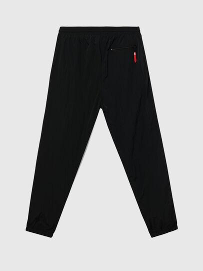 Diesel - UMLB-DARLEY, Black/Red - Pants - Image 2