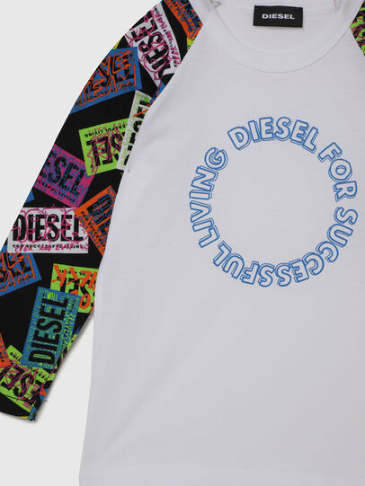 Diesel - TENTYB-R, White - T-shirts and Tops - Image 3
