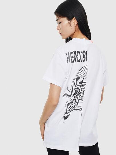 Diesel - T-GOMEZ, White - T-Shirts - Image 2